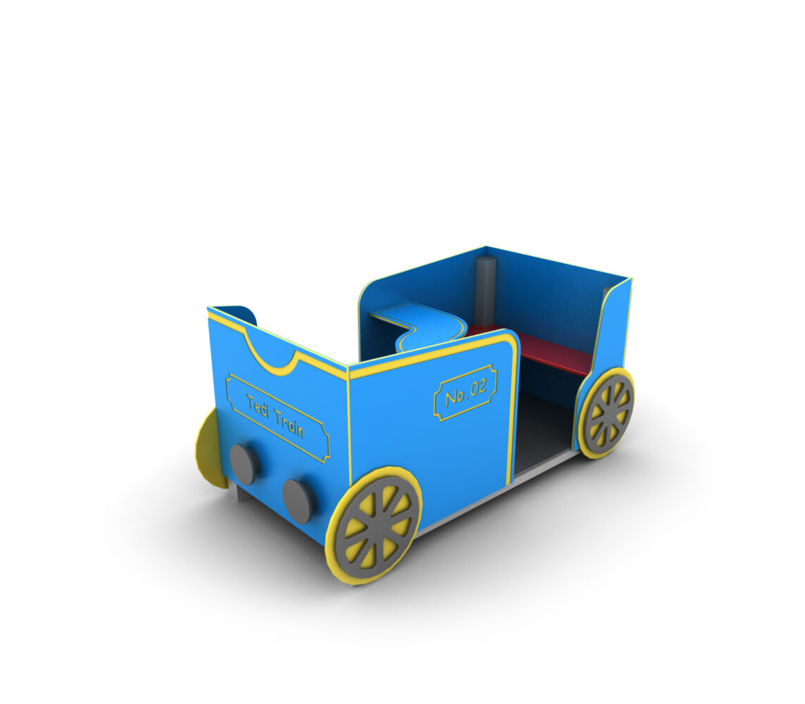 Wagon wagonik na plac zabaw dla dzieci do przedszkola i żłobka