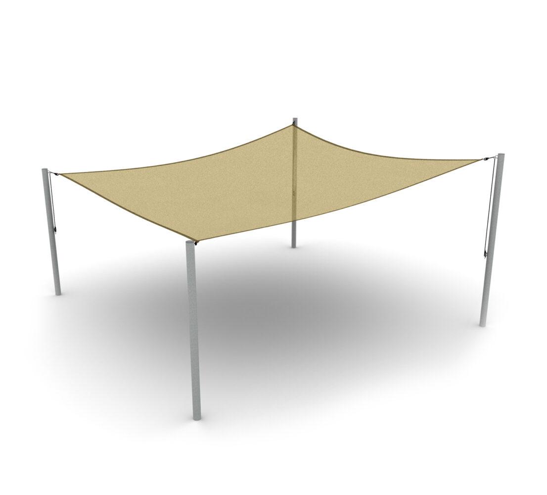 Ogrodowe żagle przeciwsłoneczne w kształcie trójkąta, kwadratu, kwadratowe żagle przeciwsłoneczne na place zabaw i do ogrodu producent