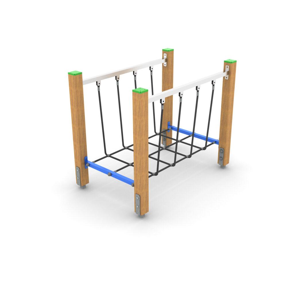 Sportowe wyposażenie placu zabaw ścieżka zdrowia na plac zabaw