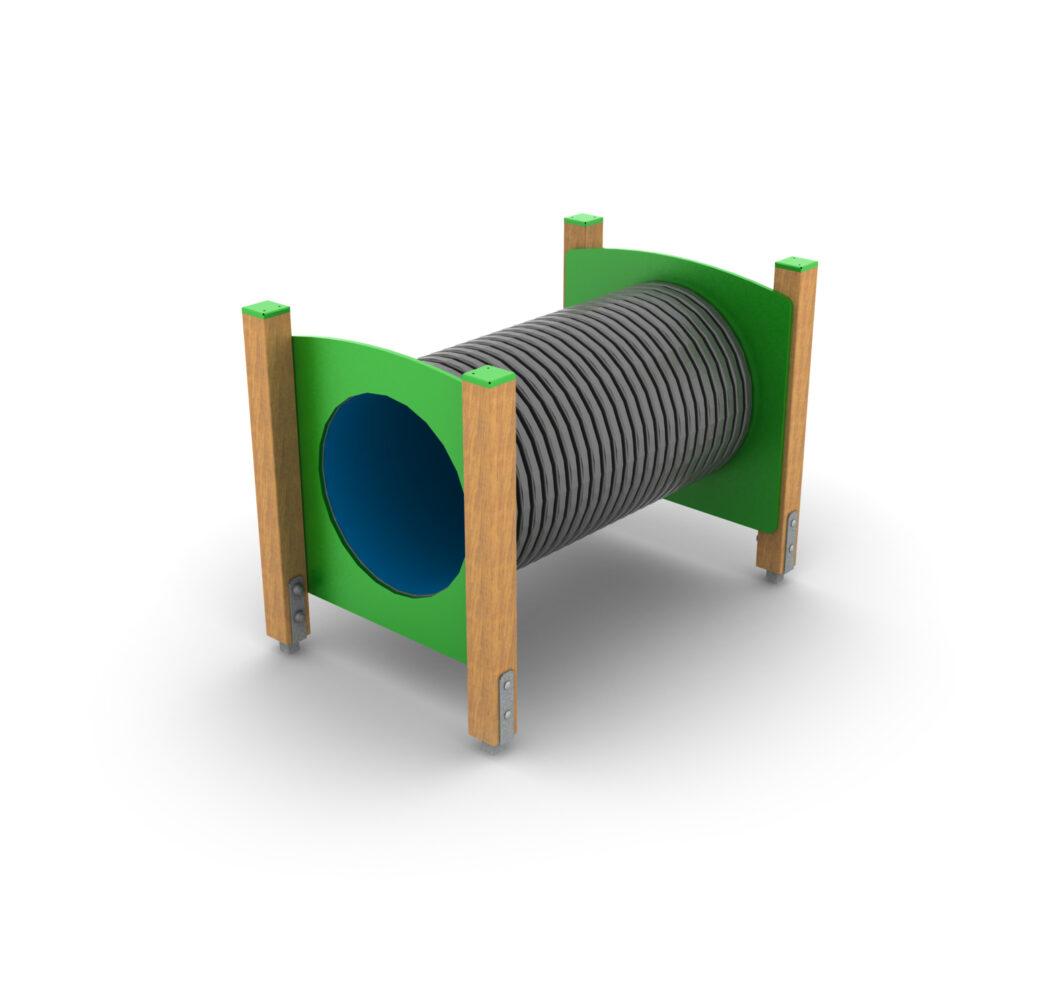 Przejście tunelowe rurowe dla dzieci na place zabaw Certyfikowane place zabaw z atestem Ścieżki zdrowia małpi gaj